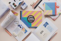 The NZ Wrapping Paper Book - NZ Designers'