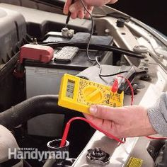 Coolant Testing with a Multimeter - Article: The Family Handyman - need to do this for the overheating talon