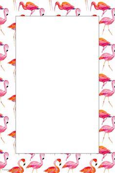 Flamingo Party Prop Frame