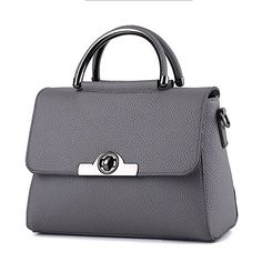 Cheap women handbags, Buy Quality ladies shoulder bag directly from China shoulder  bags Suppliers  Dark Grey High Quality PU Women Handbag Cusual Office ... e4b5606cea