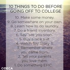 things to do at college When visiting campus, make sure you check out these common college hotspots.