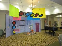 Music Backstage decorating by LifeWay VBS, via Flickr