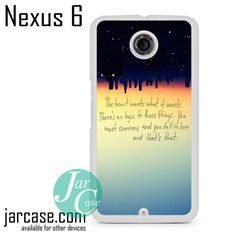 There's No Logic Phone case for Nexus 4/5/6