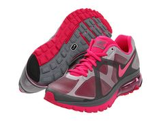 Nike Air Max Excellerate+ Cool Grey/Dark Grey/Fireberry - Zappos.com Free Shipping BOTH Ways
