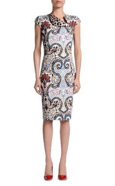 Платье длиной 3/4 Для Женщин - Платья Для Женщин on Just Cavalli Online Store