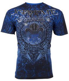 Xtreme-Couture-AFFLICTION-Men-T-Shirt-HONORABLE-Wings-Tattoo-Biker-UFC-S-4XL-40