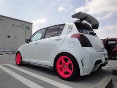 White - Pink