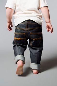 Tiny Turner Baby Rinsed Wash Denim - Nudie Jeans Co Online Shop