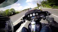 Test riding the new Harley Davidson Street Glide 2014