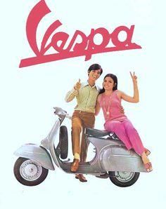 #Vespa #scooter #poster