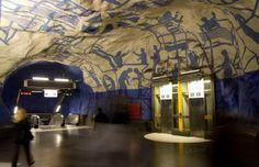Arta din subteran - Stockholm