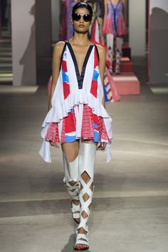 Kenzo ready-to-wear spring/summer '16: