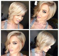 Die BOB Frisur bleibt großartig! Und super für Frauen, die ihre Haare wieder etwas länger tragen möchten. - Neue Frisur