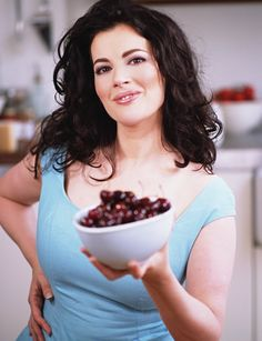 Nigella Lawson - Internationally famous for her tv shows and recipes even though she was never trained as a chef!