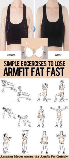 8 Simple and Effective Exercises To Reduce Arm Fit Fat