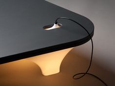 A table lamp, literally, Static Plastic Table by...