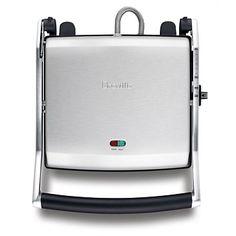 Breville - Home Appliances - Briscoes - Breville BSG540SS Ikon Sandwich Press 4 Slice