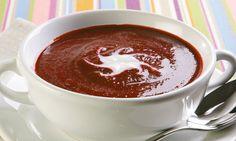 Sopa de beterraba Granola, Yummy Food, Tasty, Other Recipes, Risotto, Pudding, Cream, Tableware, Desserts