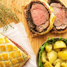 Easy Beef Wellington with Mushroom & Jamón - Fine Dining, Classical British Food, Home Cooking, Best Beef Wellington, Recipe | happyfoodstube.com