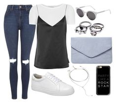 """""""139"""" by gabigomesll on Polyvore featuring moda, Topshop, L'Agence, WithChic, RetroSuperFuture, Dorothy Perkins, Forever 21 e Casetify"""