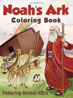 Noahs Ark Coloring Book Featuring Animal ABCs Barbour Publishing Inc 9781616269333