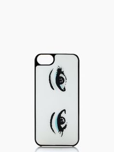 This feminine iPhone case is on our wish list!  We just wish it could wink at that cute guy for us... #DateNightCotton #KateSpade