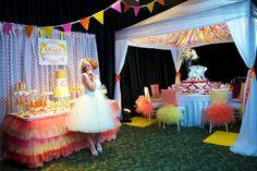 Citrus Circus Wedding Theme » Lavish and Fabulous