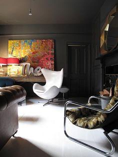 Ícone em design, a Egg esbanja atitude.  #poltronas #home #decor #interior #design / Att. EO