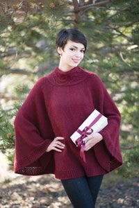 Caroling Cape Knitting Pattern : 1000+ images about Christmas Knitting and Holiday Projects on Pinterest Kni...