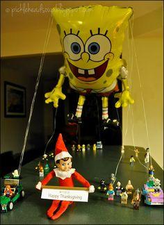 Elf on the Shelf - Happy Thanksgiving!! Picklehead Soup: November 2013