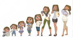 from childhood to maturity by kikaigaku on DeviantArt ★ Find more at http://www.pinterest.com/competing/