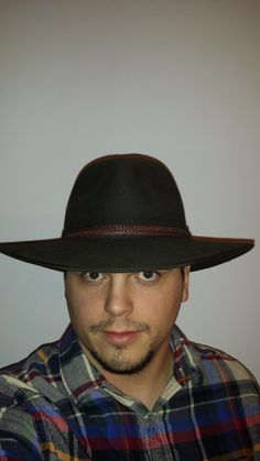 Modern Akubra Tablelands hat. Akubras are the epitome of Australian hats. These can be had for $100.00 American. Great for outdoor use or more casual look
