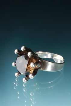 Ring by Alton. Sweden. 1960's.