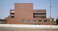 Diener & Diener - Ausbildungs- und Konferenzzentrum Viaduktstrasse, Basel, 1985–1994