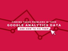 Finding These Problems in Your Google Analytics Data and How to Fix Them http://ift.tt/2ri1dIF  Ever since the creation and distribution of Google Analytics several people have used it to track and report on their websites traffic. Tracking through the use of Google analytics can help you learn some valuable information on who is visiting your website the rate of visitors on your website what the visitors do and whether the website does its intended objective.  However tracking through the…
