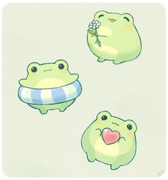 - Welcome to our website, We hope you are satisfied with the content we offer. Cute Little Drawings, Cute Kawaii Drawings, Cute Animal Drawings, Kawaii Art, Frog Drawing, Frog Art, Dibujos Cute, Cute Frogs, Cute Stickers