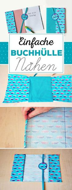 Book Cover for Beginners School books and notebooks get a colorful robe at the beginning of school. Simple, quick and super Sewing Book Cover for Beginners School books and notebooks get a colorful robe at the beginning of school. Simple, quick and super Sewing Projects For Beginners, Knitting For Beginners, Easy Knitting, Diy Projects, Baby Knitting Patterns, Sewing Patterns Free, Sewing Hacks, Sewing Tutorials, Sewing Tips