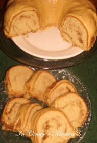 In Cindy's Kitchen: Biscoff Sock-It-To-Me Pound Cake: Biscoff with a Southern Flair