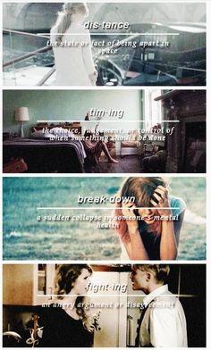 Sad Beautiful Tragic. Kiss me, try to fix it.