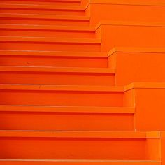 "༺✺❥Charmeleon Collections❥✺༻ ""Orange Crush"" Stairs"