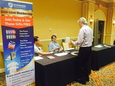 LIVE From The Scene: Igor Ledochowski welcoming guests at the Hypnosis Training Academy's corner at the HypnoThoughts conference in Vegas! #HypnoThoughts #HTA #LiveEvents #hypnosis #IgorLedochowski