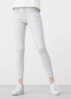 Jeans skinny Belle encerados