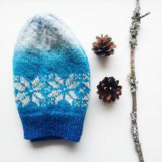 Моя идеальная #зимняяшапка ❄ ----- My ideal #winterhat  #crafticumknit #crafticum #knitting #knittedhat #nordicstar #strandedknitting #handknit #aadelong #вязание #вязанаяшапка #ручнаяработа