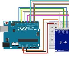 Arduino rfid read and write with LCD display