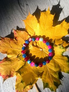 Crazy colors 8mm bracelet