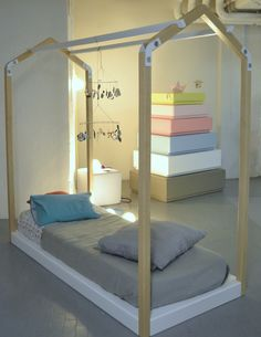 mommo design: KIDS DESIGN IN MILAN - Lilgaea casa bed