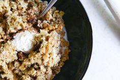 dark chocolate chunk cheesecake baked oatmeal