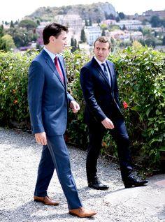 Trudeau & Macron Are The New Trudeau & Obama — & We Have Feelings