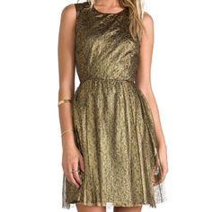 Erin By Erin Fetherston Lace Dress