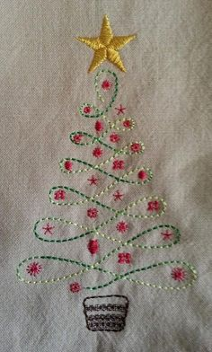 Looking for embroidery project inspiration? Check out Christmas Tree by member AkEdRn. - via @Craftsy